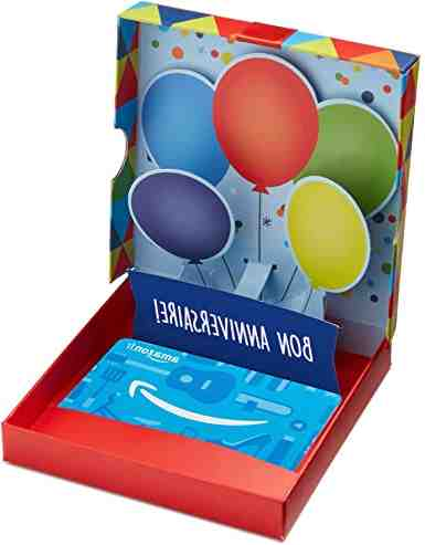 Comment marche carte cadeau Amazon ?